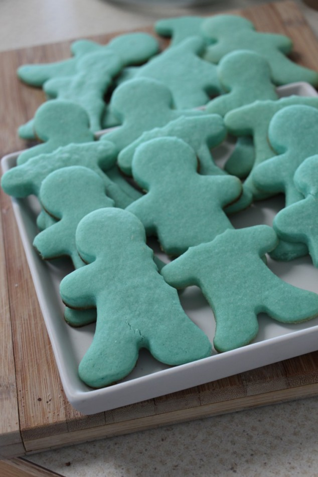 Blue Raspberry Sugar Cookies
