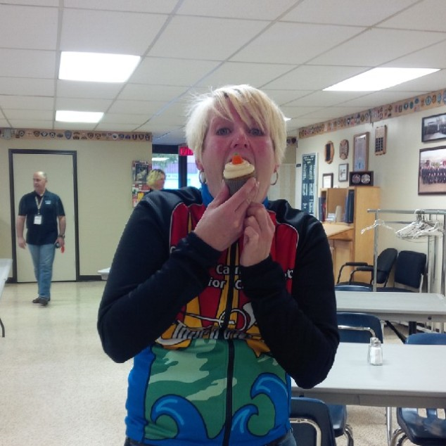 Sharon Unger's Cupcake Face!